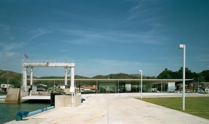 海の駅 正面
